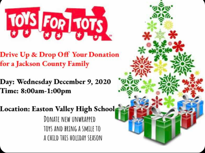 Please help support Toys for Tots & NHS member Porter Fuegen.