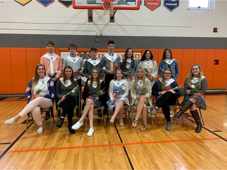 2021 Riverhawk NHS Chapter Inductees