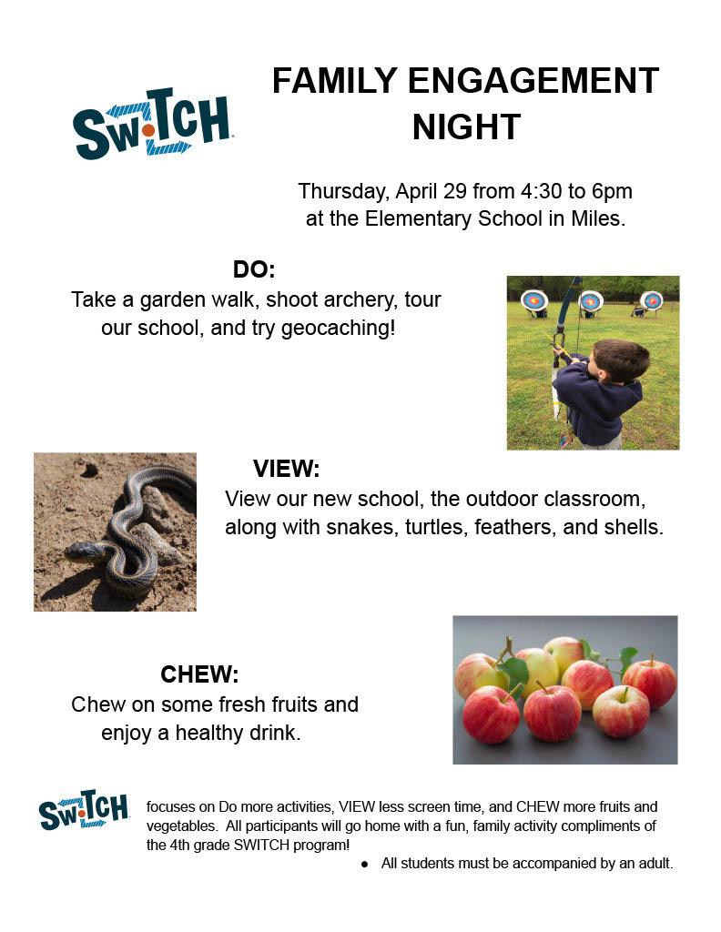 Switch Family Engagement Night