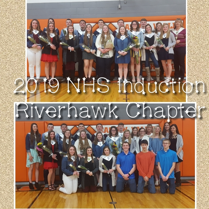 2019 Riverhawk NHS Induction