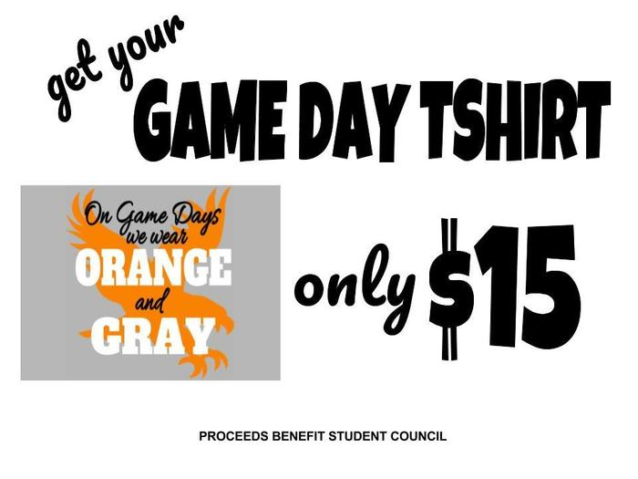 Game Day T-shirts poster