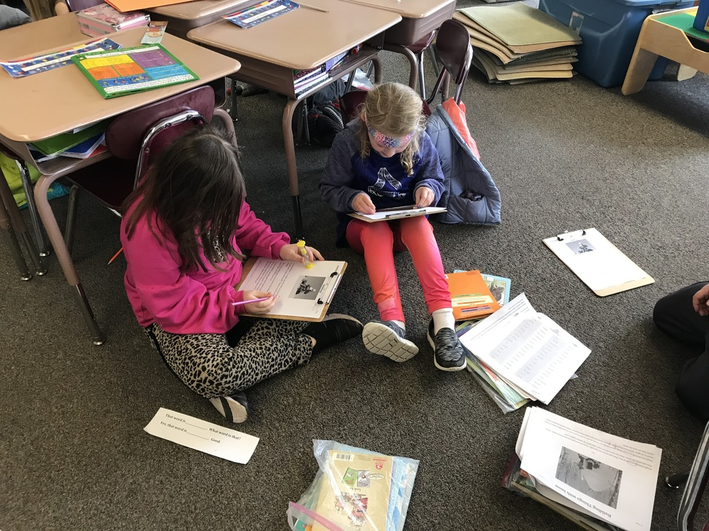First Graders are working on reading fluency.  Being a fluent reader means I read accurately (no mistakes), smoothly (not choppy) and with expression.  Students are working hard and doing a great job!