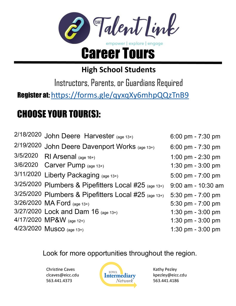 Career Tours
